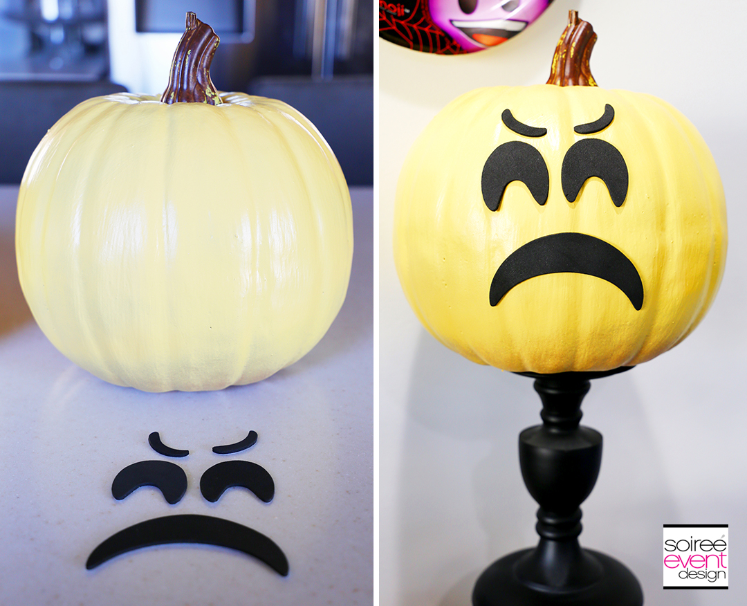 Halloween Emoji Pumpkins - Step 3A