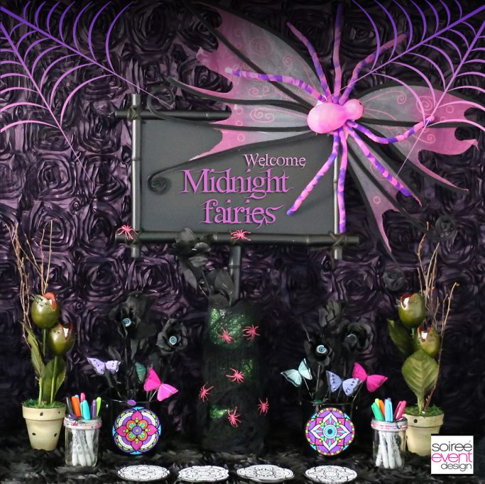 Midnight Fairy Halloween Party for Kids