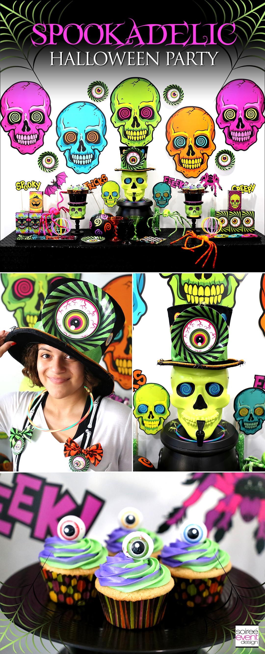 Kid-Friendly Spookadelic Halloween Party Ideas