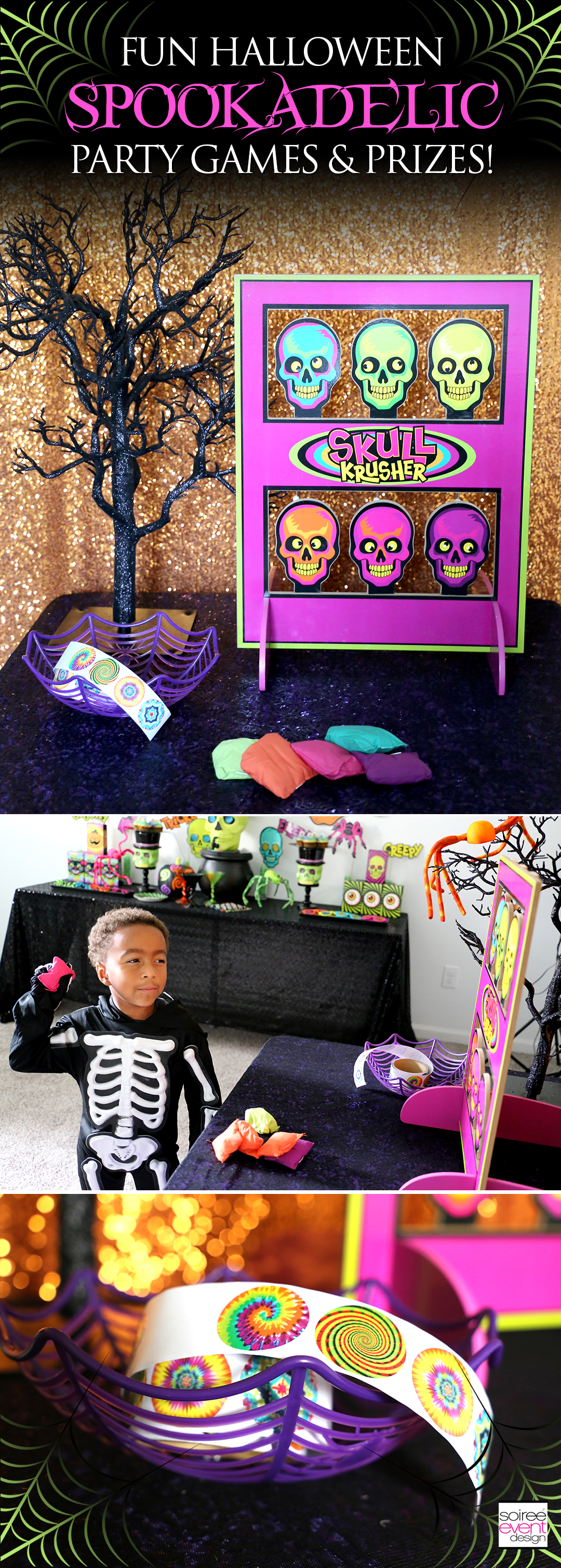 Spookadelic Halloween Party Games