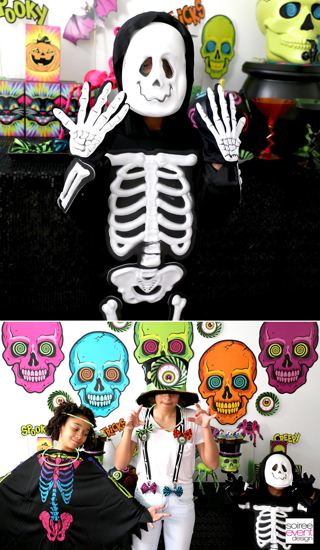 Spookadelic Halloween Party Ideas - Costumes