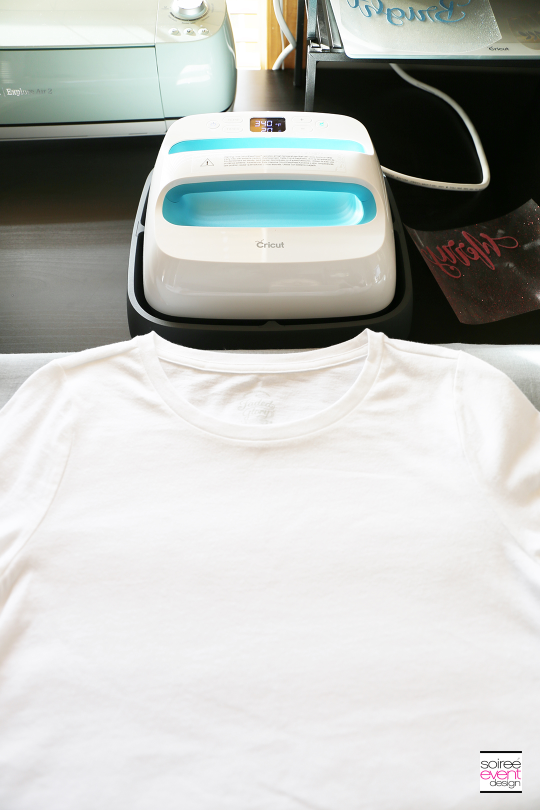 Cricut Merry and Bright T-Shirts - Step 5