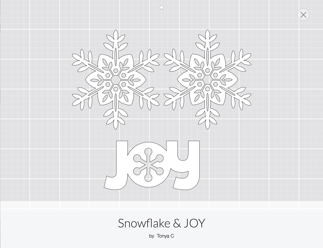 Cricut Paper Christmas Tree Decorations-1