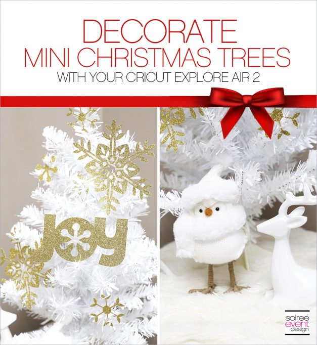 Make Paper Christmas Tree Decorations with Cricut!