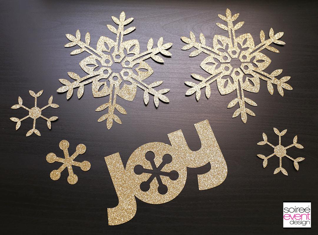 Cricut Paper Christmas Tree Decorations-8