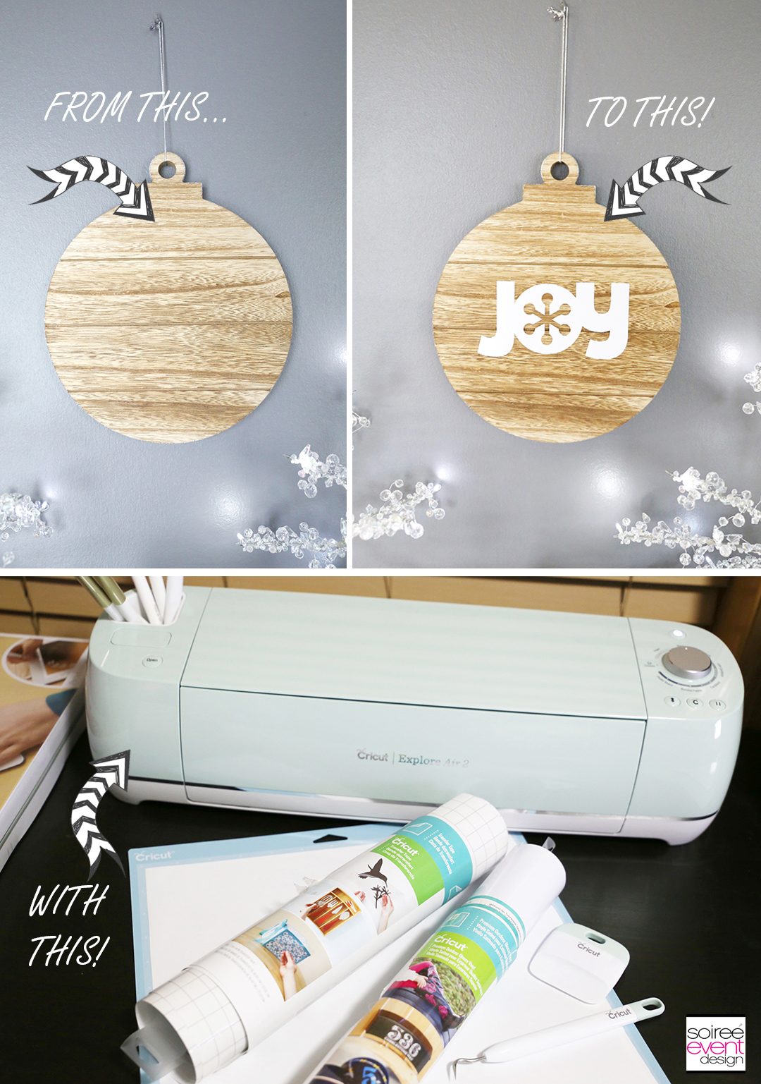 DIY Cricut Farmhouse Decorations TUTORIAL