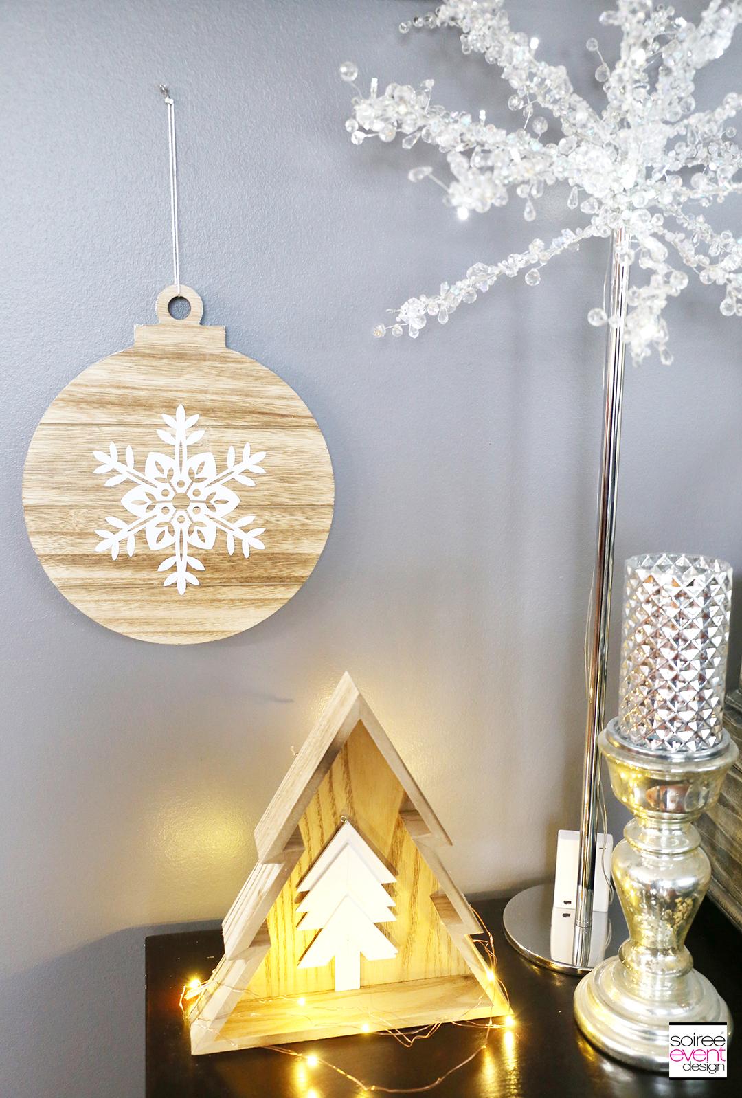Farmhouse Holiday Decor - LED Crystal Trees