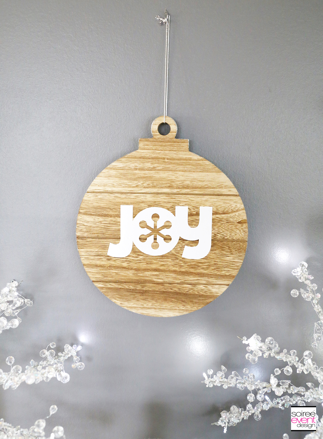 Farmhouse Holiday Ornaments