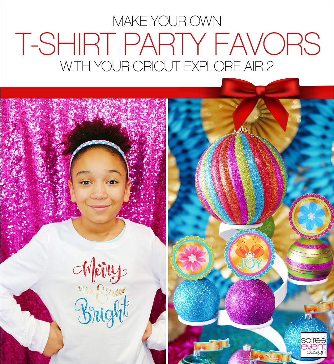 T-shirt Party Favors with Cricut