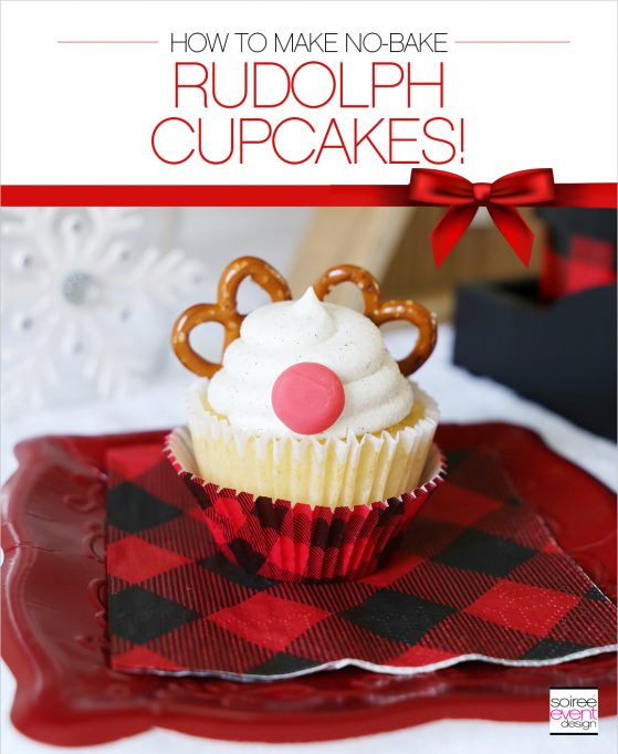 How to Make Rudolph Cupcakes + Giveaway!