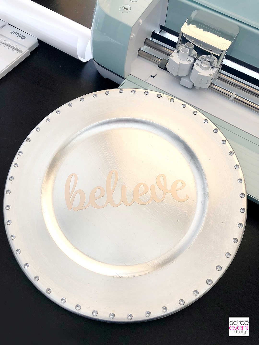 Personalized Christmas Tablescape - Step 7