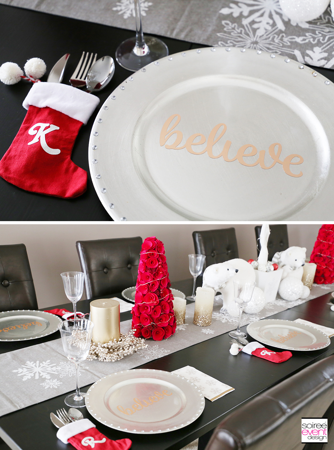Personalized Christmas Tablescapes