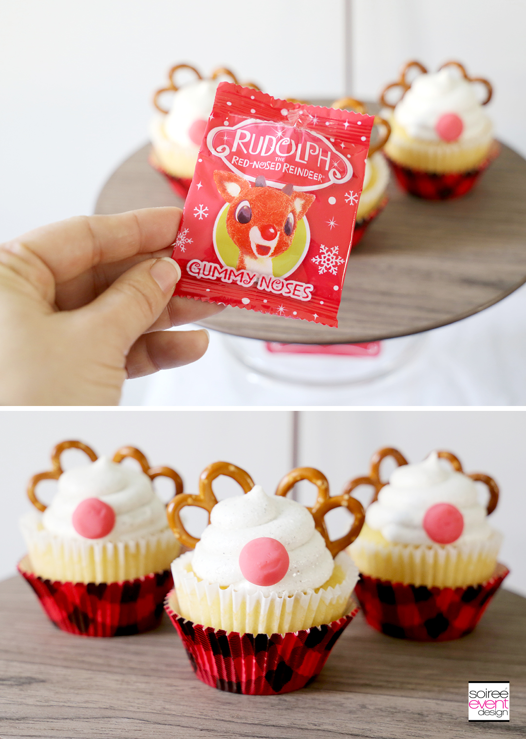 Rudolph Cupcakes-Step 3
