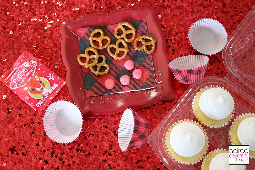 Rudolph Cupcakes-supplies