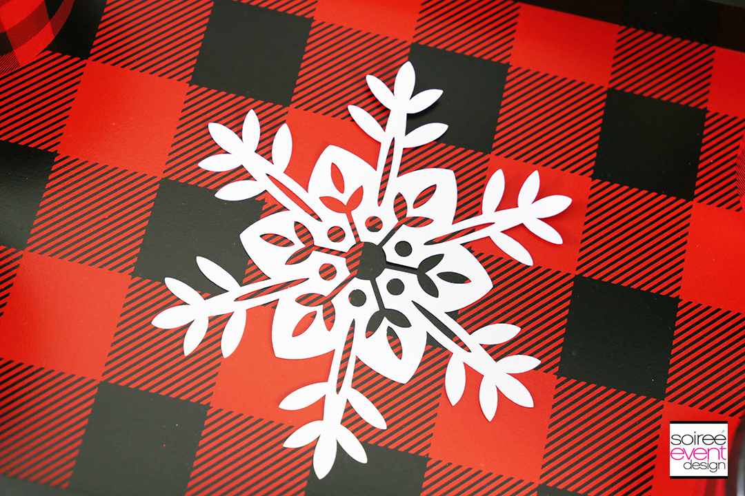 Rudolph Party Ideas - Buffalo Plaid Decor