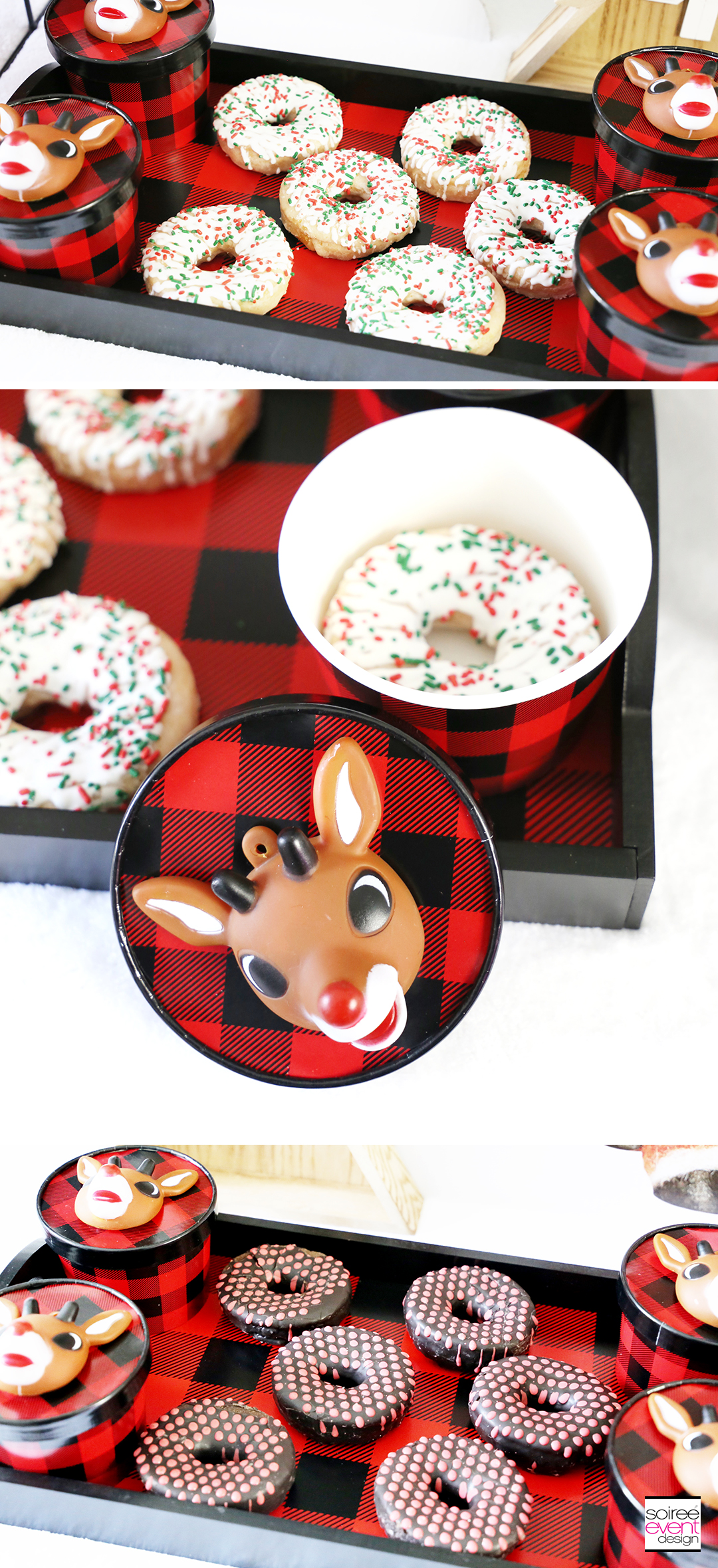 Rudolph Party Ideas - Rudolph Donuts