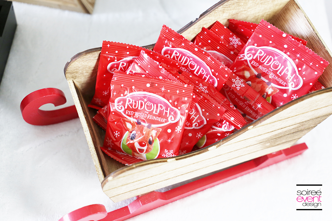 Rudolph Party Ideas - Rudolph Gummy Noses Candy
