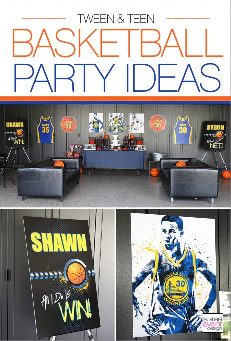 Basketball Party Ideas for Teens & Tweens
