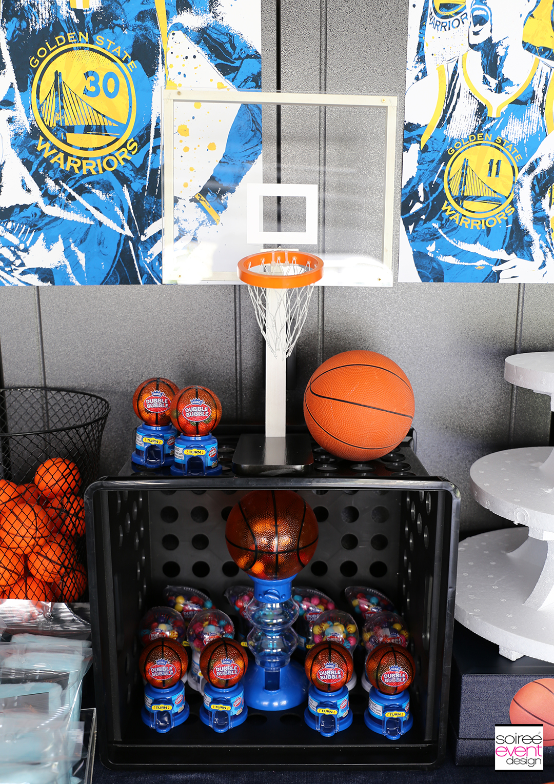 Basketball Party Ideas - Basketball Party Decorations