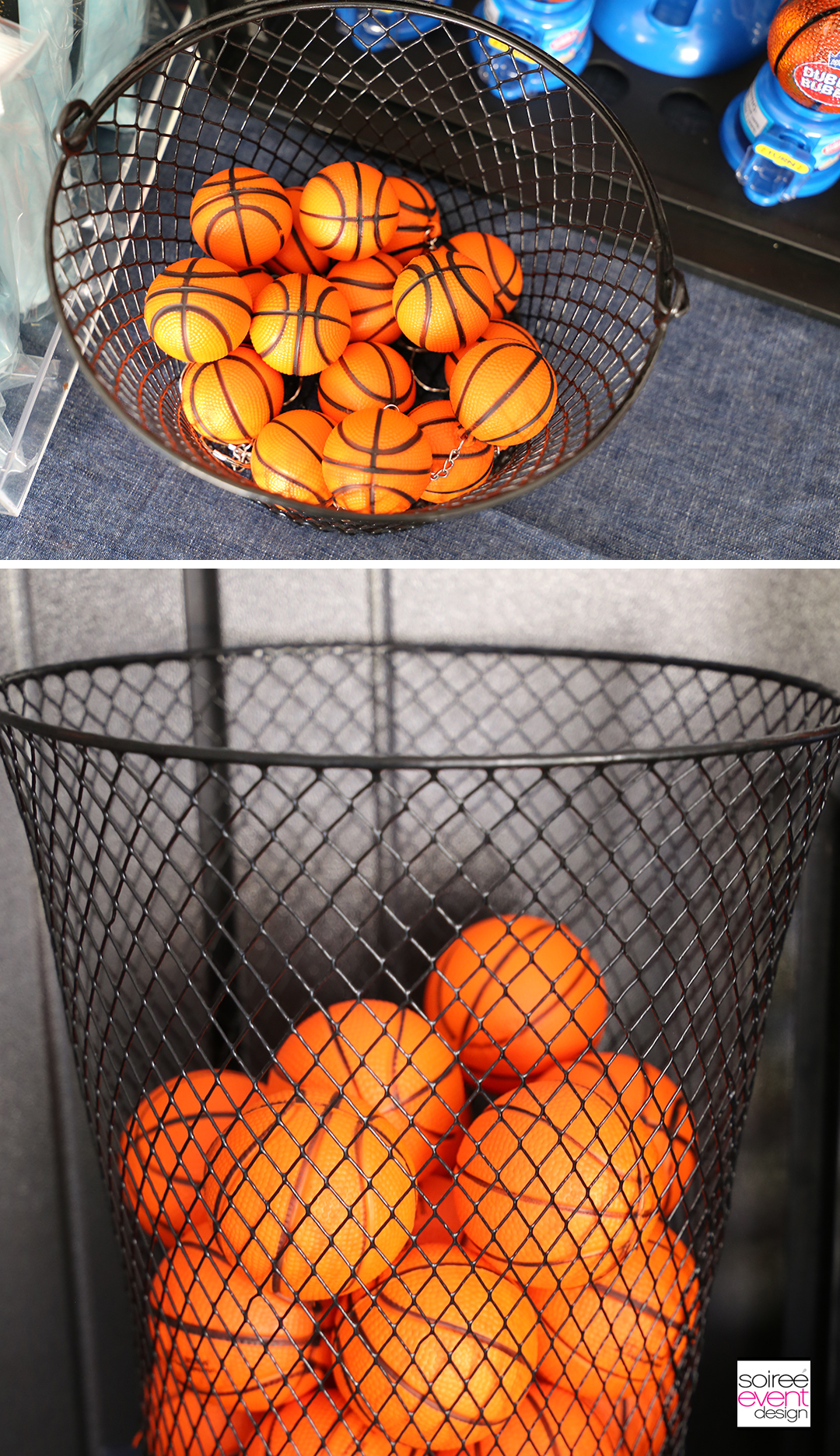 Basketball Party Ideas - Basketball Party Favors