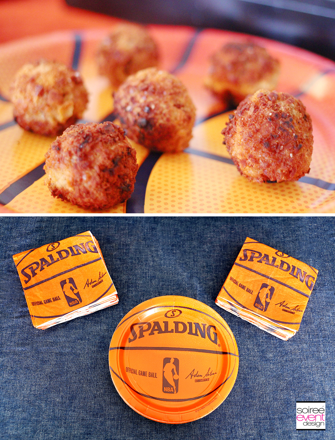 Basketball Party Ideas - Basketball Partyware
