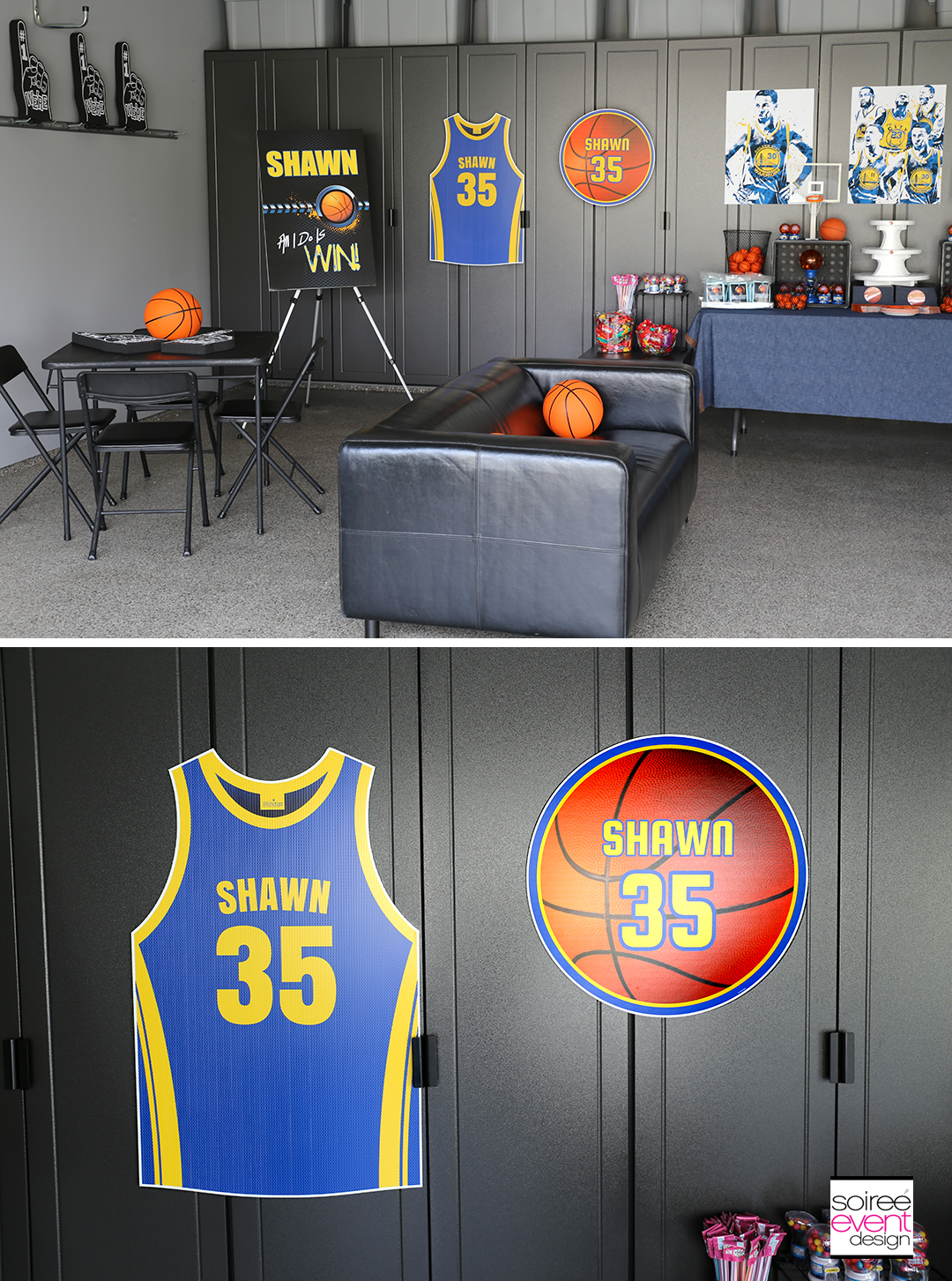 Basketball Party Ideas - Personalized Decorations