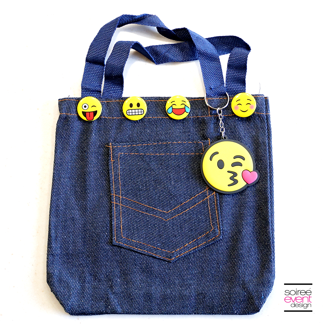 DIY Emoji Denim Tote Bag 2