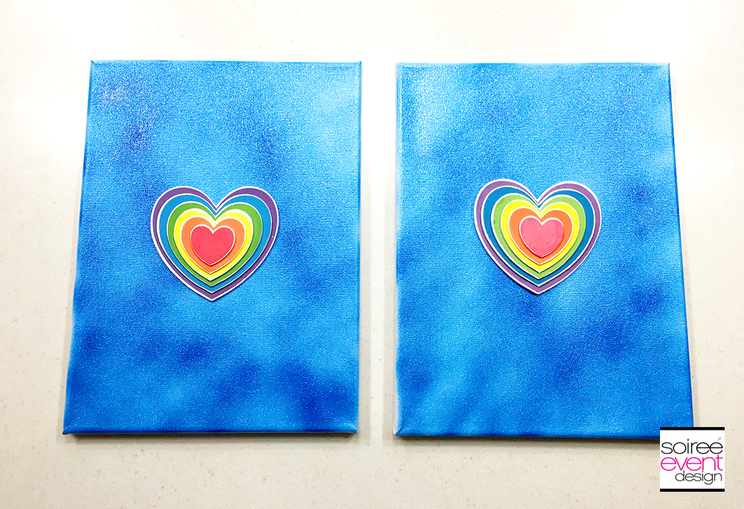 DIY Rainbow Wall Art - Step 4