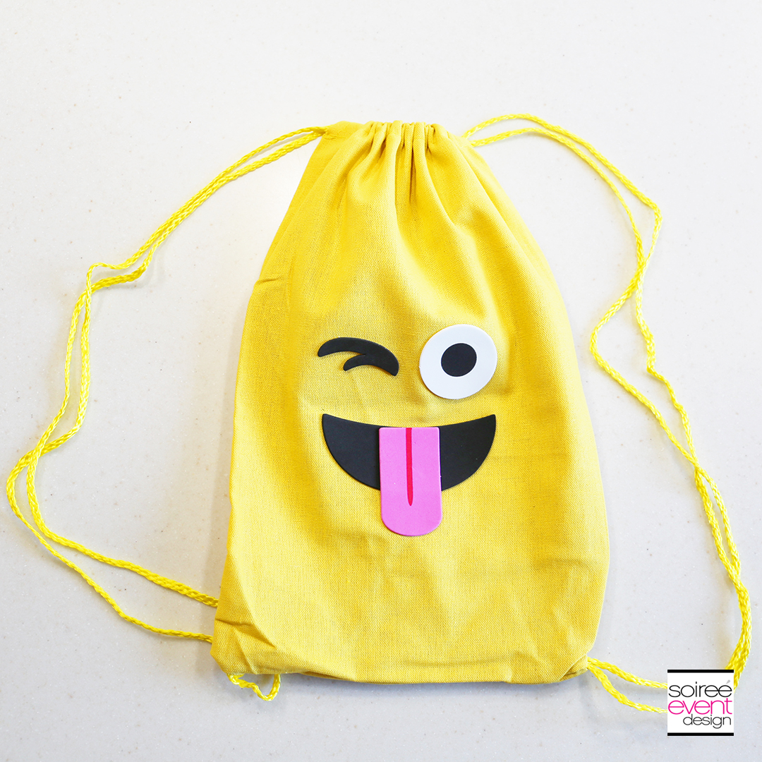 Emoji Backpacks Party Favors - 1