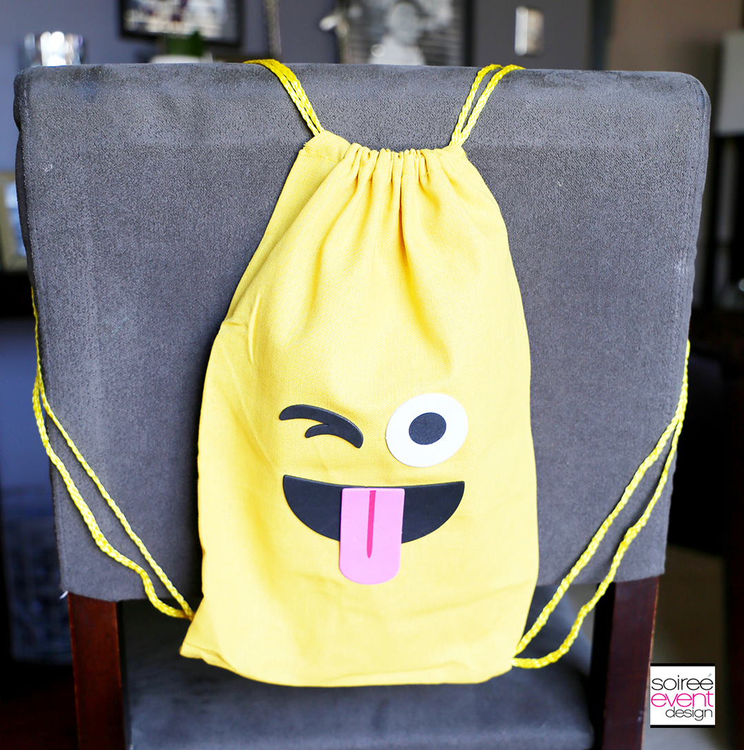 Emoji Backpacks Party Favors Chairbackers