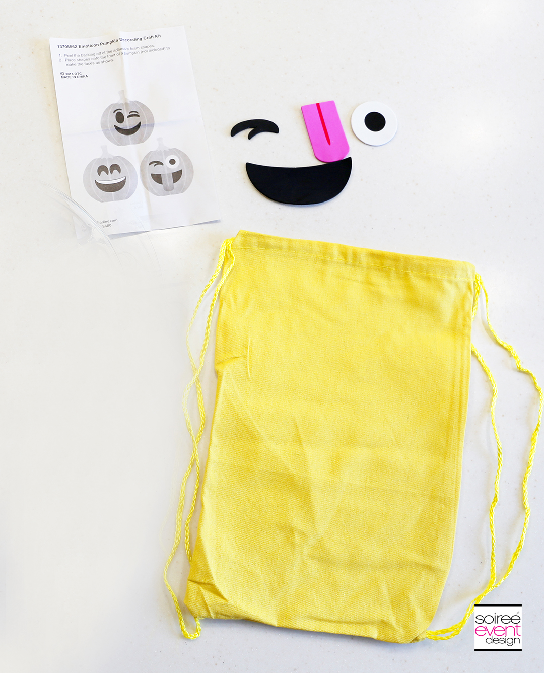 Emoji Backpacks Party Favors - Supplies