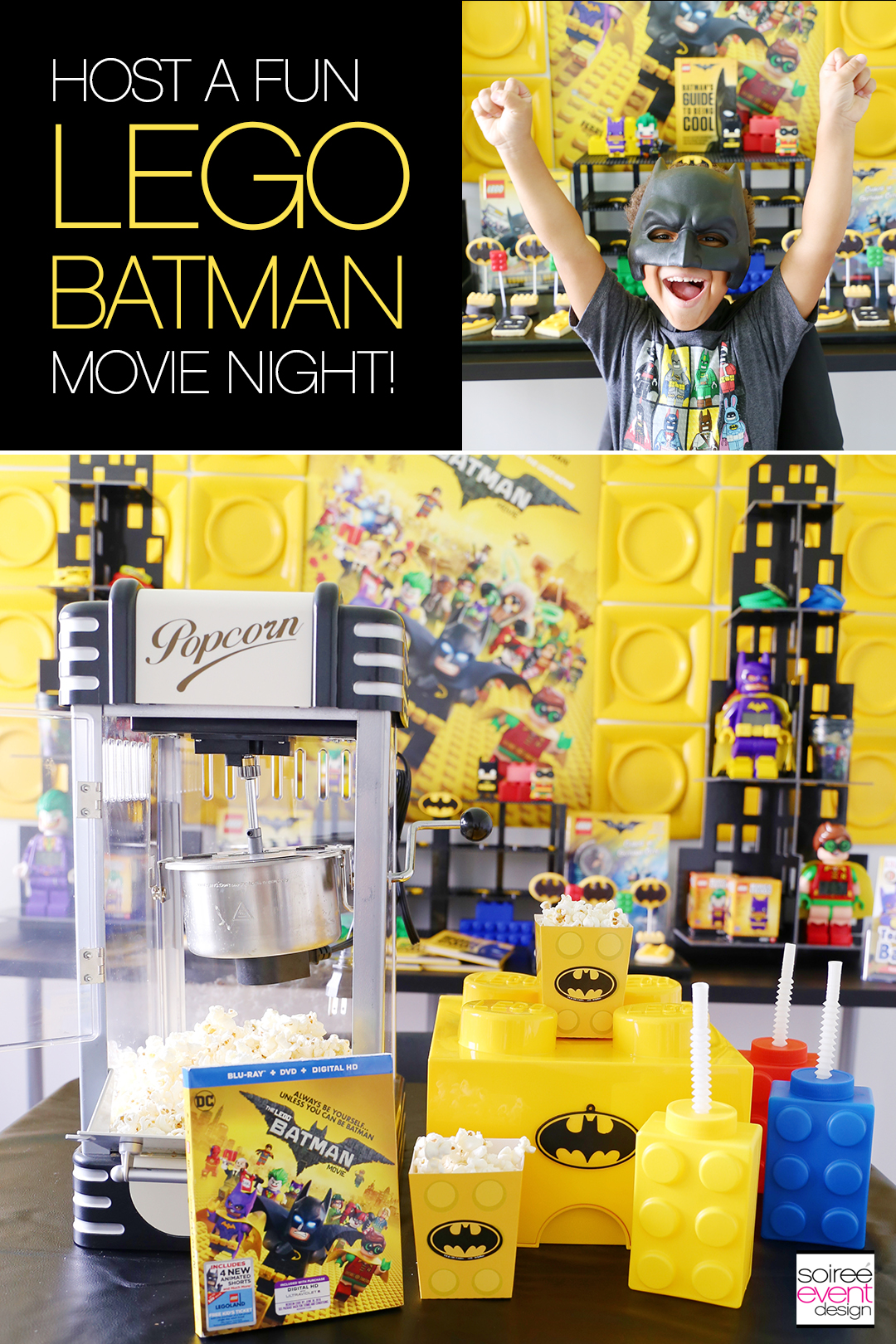 LEGO Batman Movie Night Party