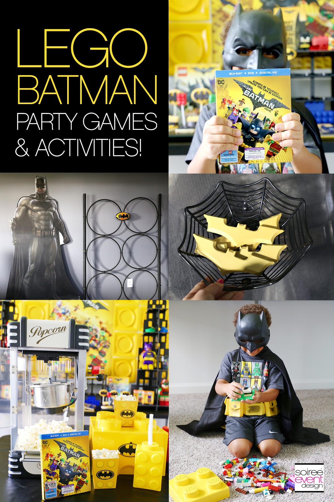 LEGO Batman Party Activites - Soiree Event Design