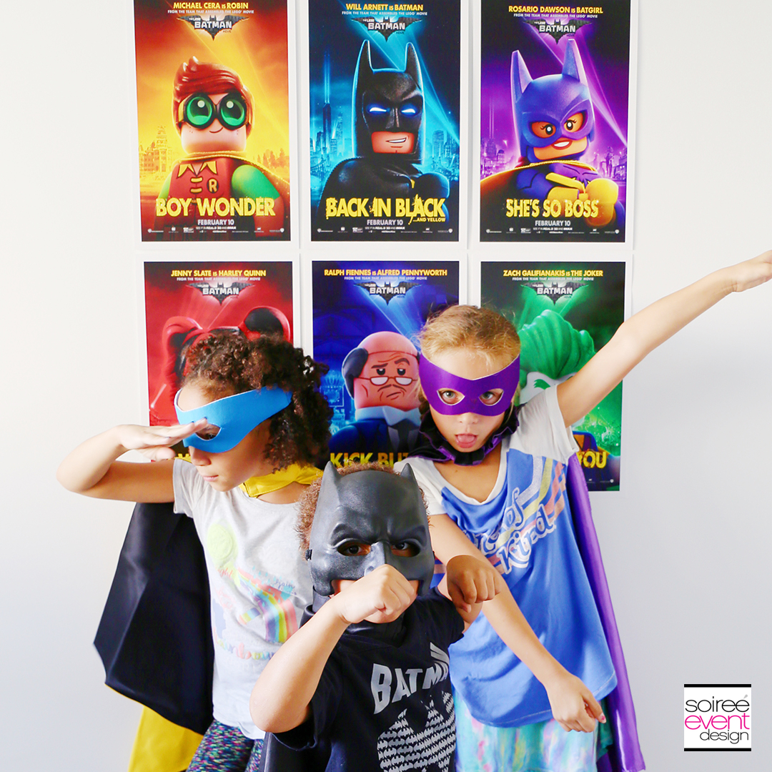 LEGO Batman Party Photo Booth - LEGO Batman Party Ideas 1