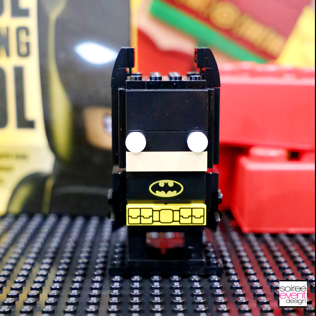 Lego Batman Party Favors Ideas - Batman BrickHeadz