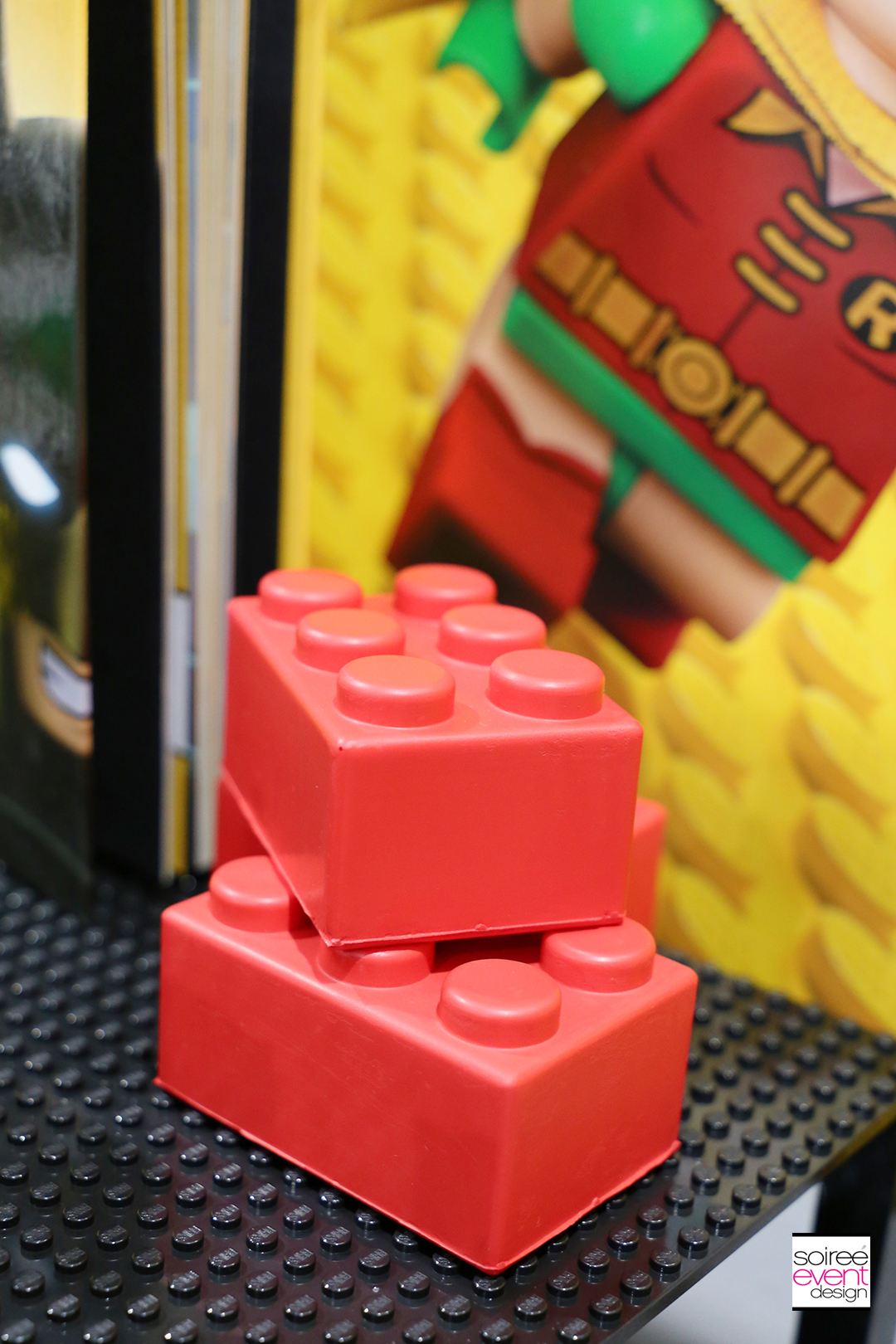 Lego Batman Party Favors Ideas - Lego Brick Squishies