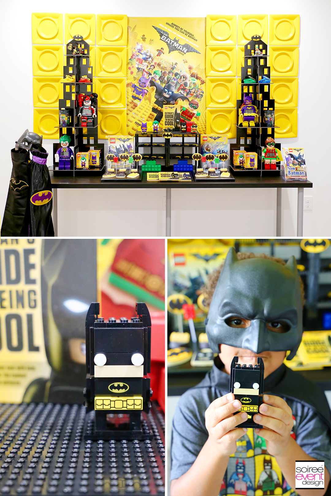 Lego Batman Party Ideas - Batman Dessert Table