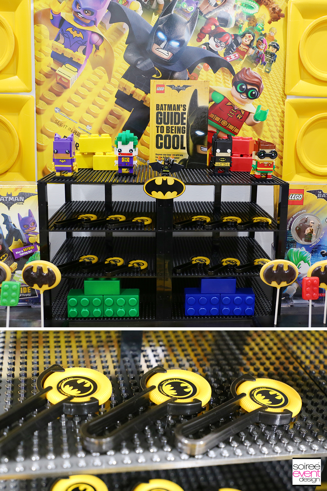 Lego Batman Party Ideas - Batman Favors