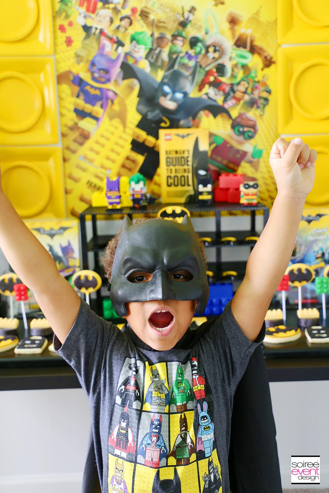 Lego Batman Party Ideas - Batman Mask