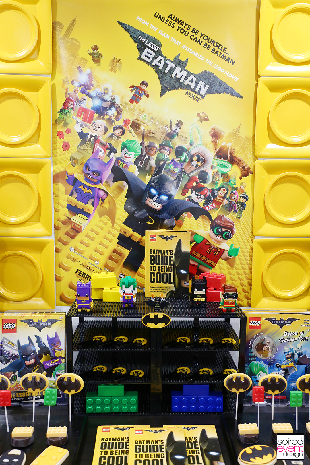 Lego Batman Party Ideas - Batman Party Dessert Table