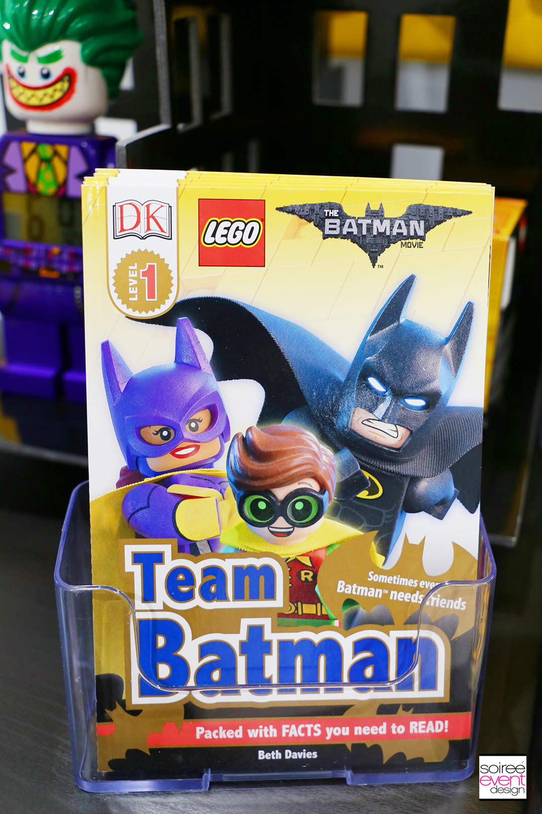 Lego Batman Party Ideas - Batman Party Favors Books