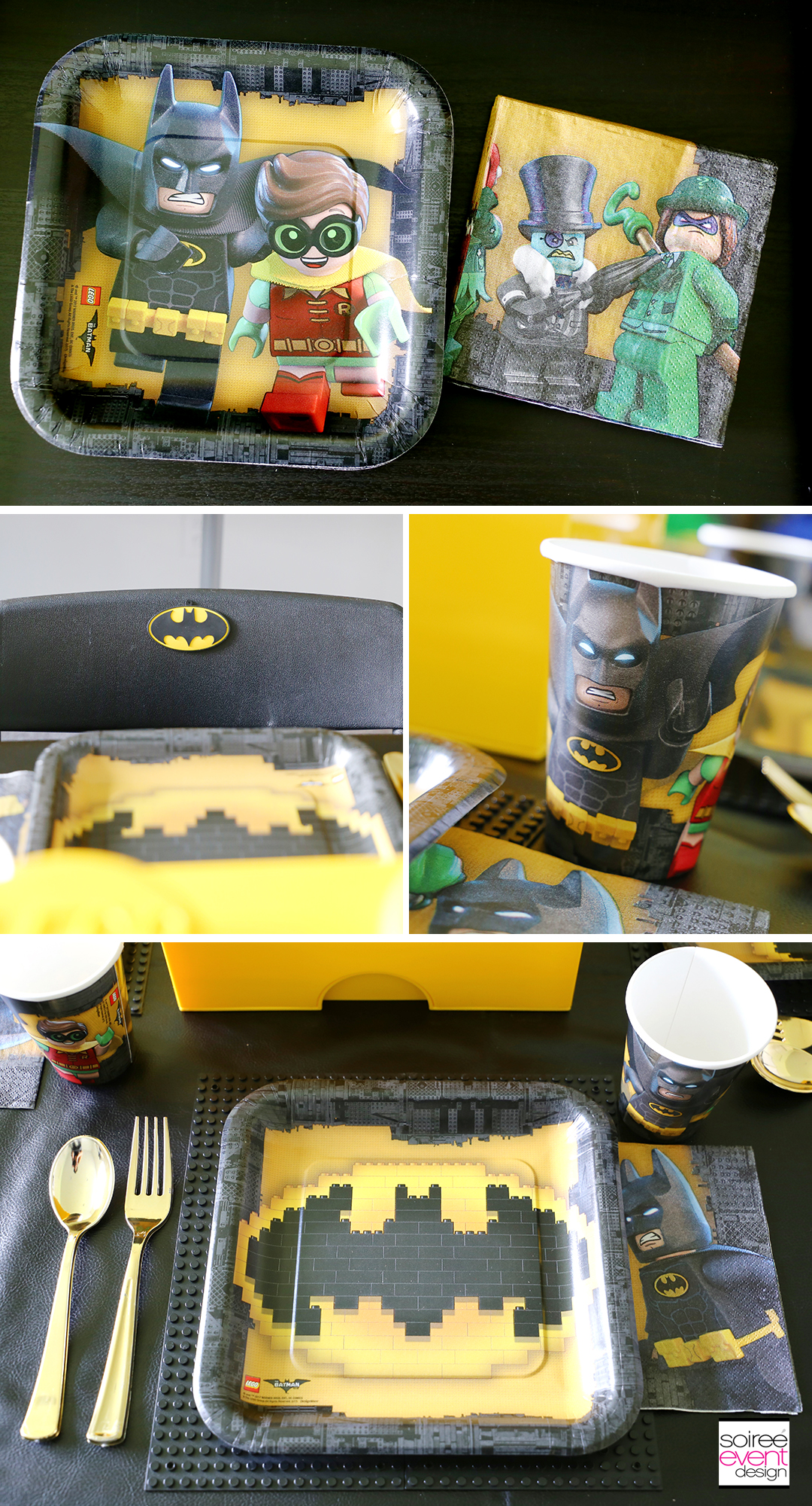 Lego Batman Party Ideas - Batman Party Supplies