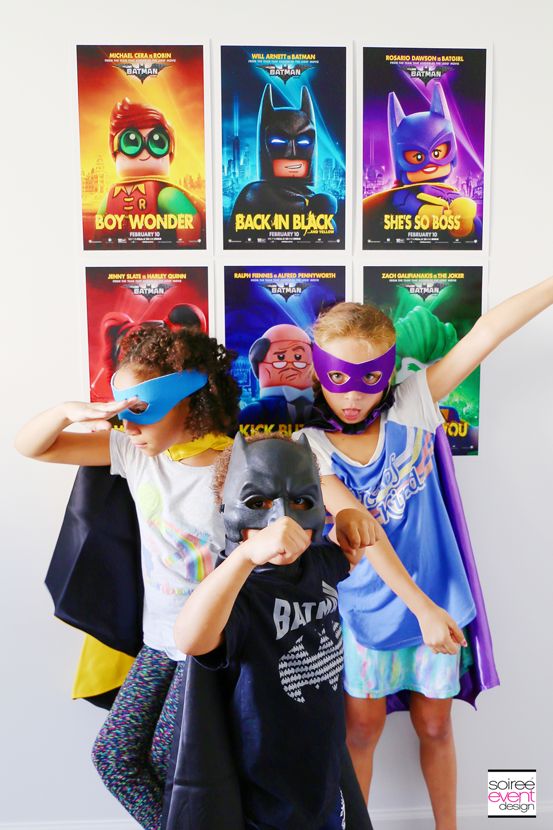 Lego Batman Party Ideas - Batman Photo Booth