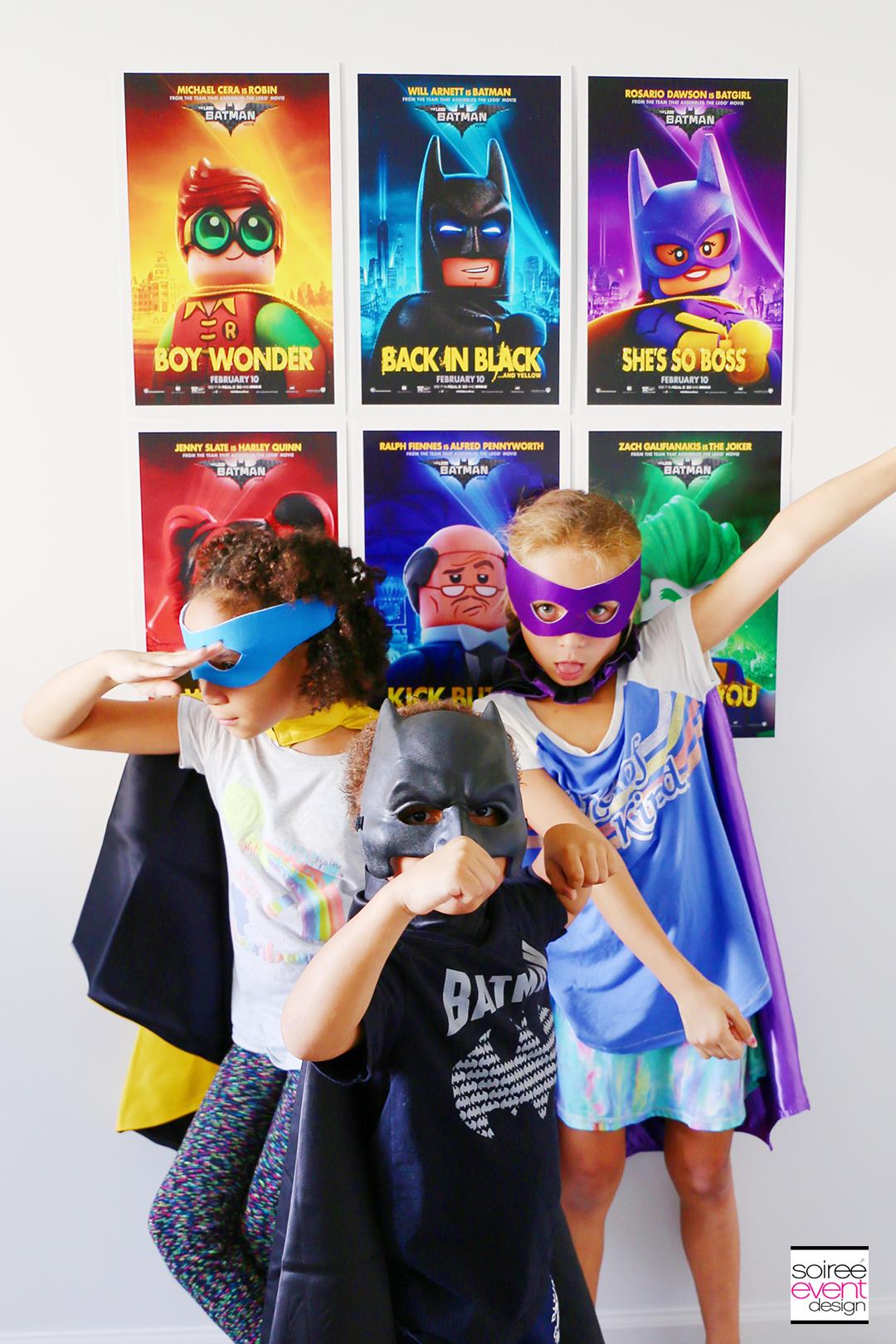 Lego Batman Party Ideas - Batman Photo Booth