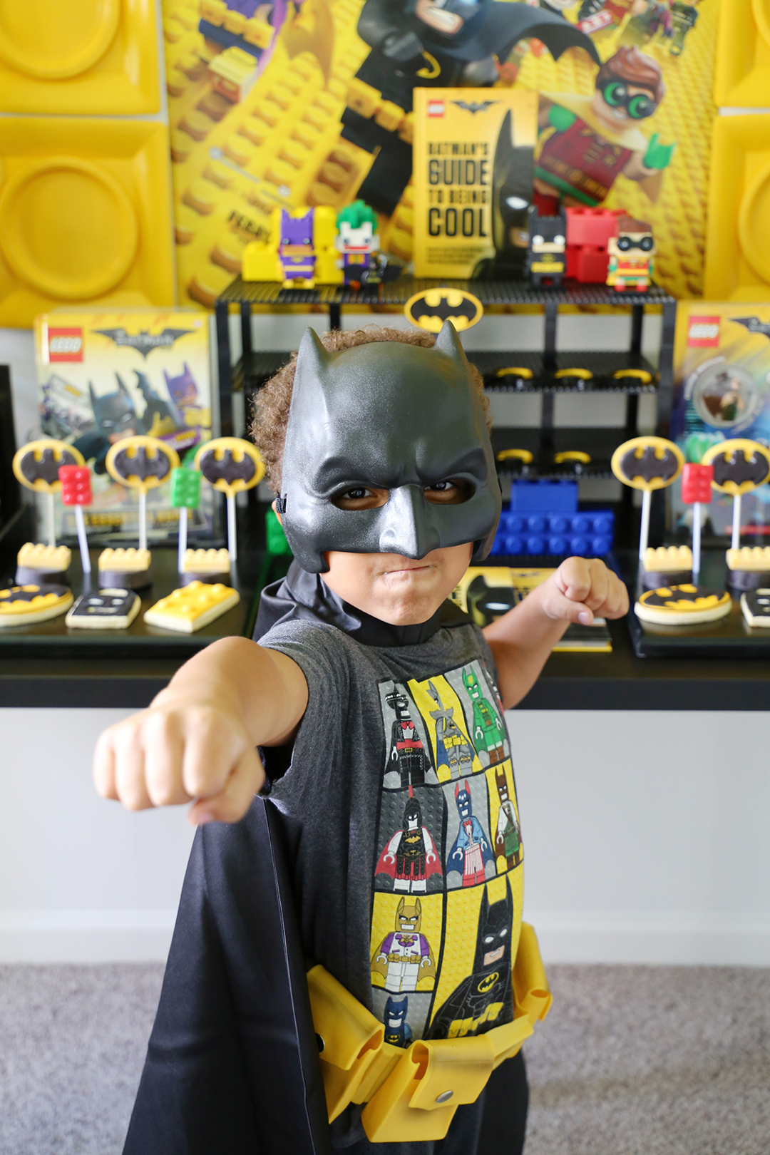 Lego Batman Party Ideas - Costumes