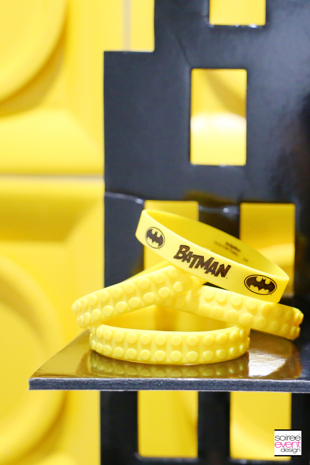 Lego Batman Party Ideas - Lego Batman Bracelets