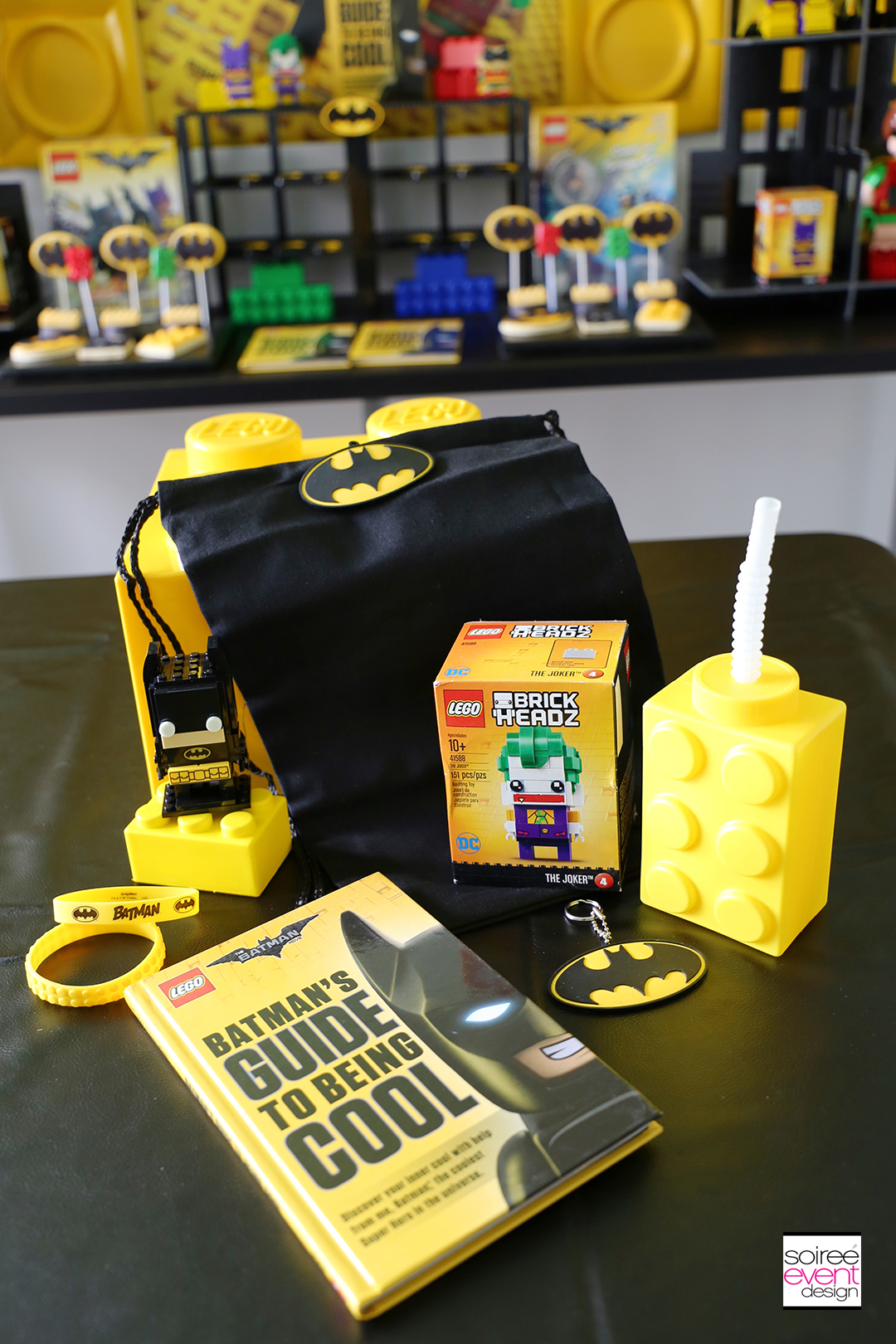 Lego Batman Party Ideas - Lego Batman Party Favors - 2