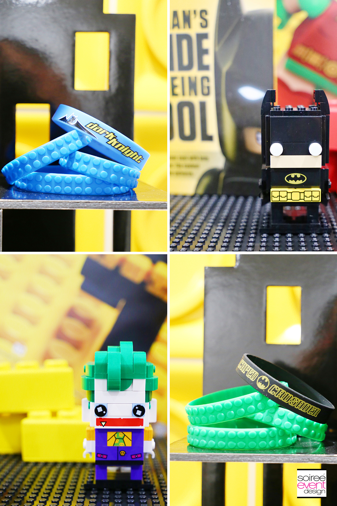 Lego Batman Party Ideas - Party Favors