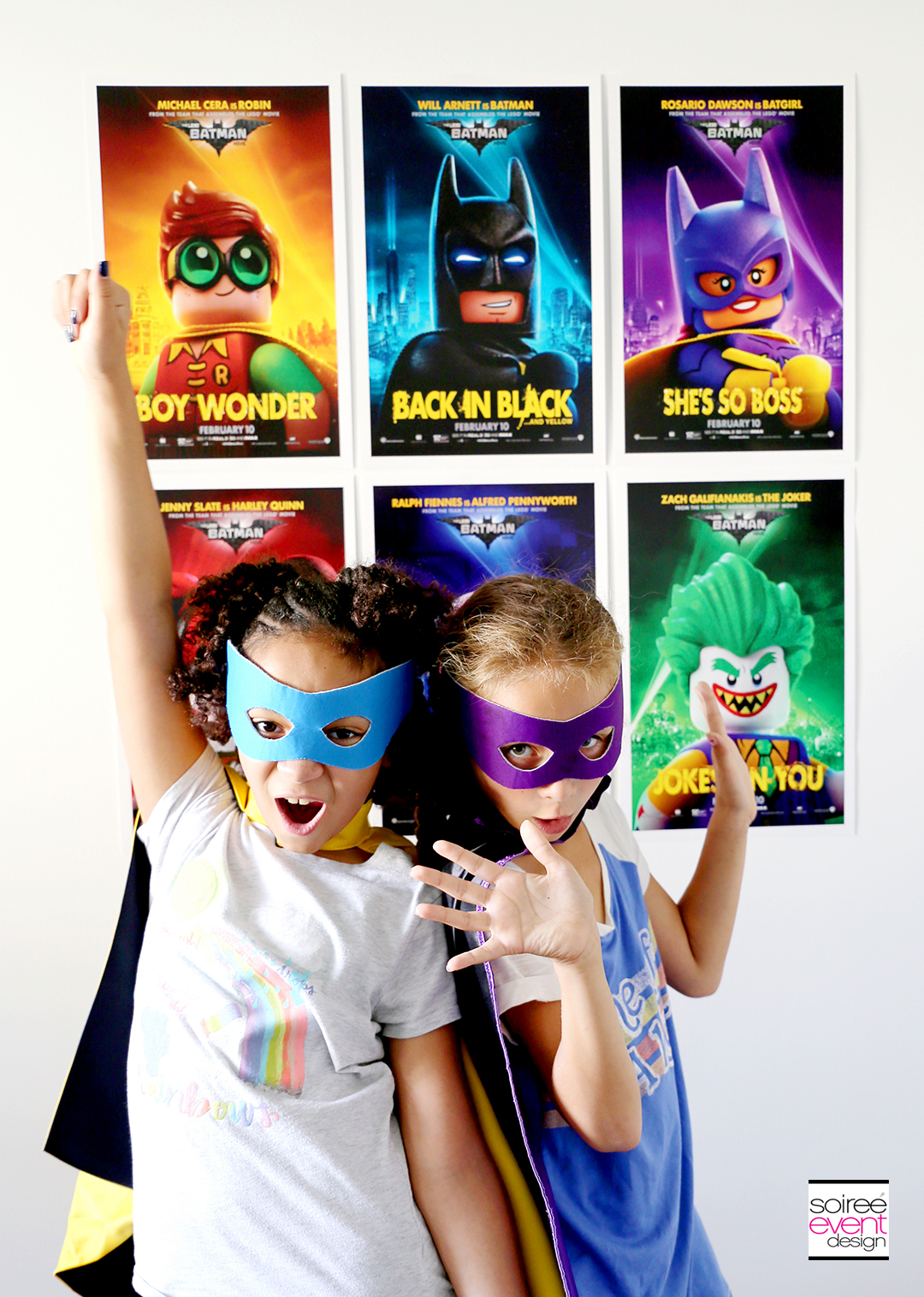 Lego Batman Party Photo Booth - 11