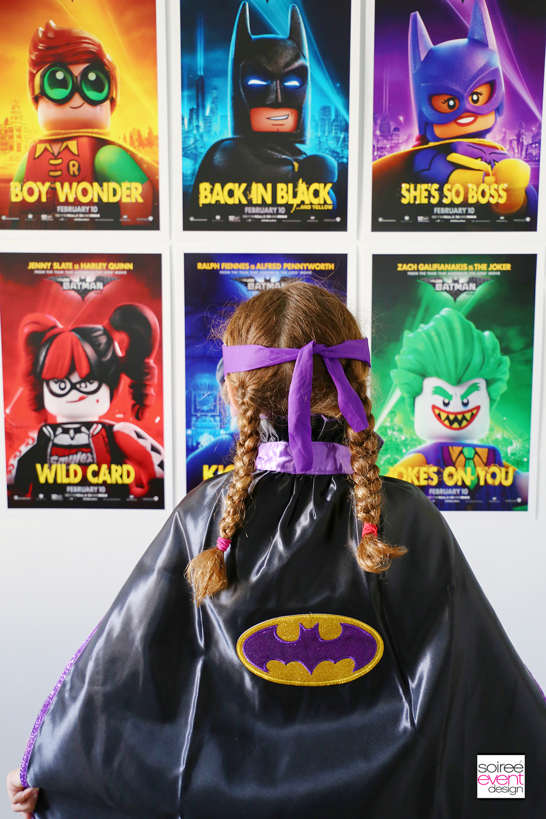 Lego Batman Party Photo Booth - 2